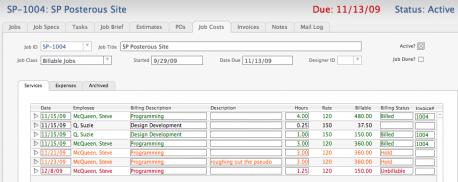 SM10_Job_Costs_Services_tab