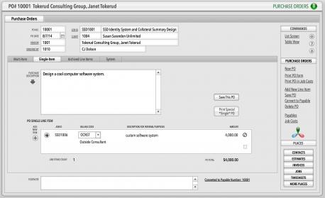 SM13_POs_Entry_Screen_Single_Item_tab